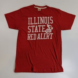 Vintage 90's Illinois State ISU Red Alert T-shirt